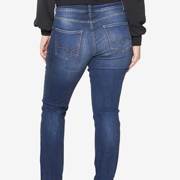 94b005a3 Silver Jeans Jeans | Silver Plus Size Elyse Straight Leg Nwt | Poshmark